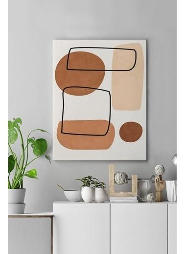 MarkaEv Canvas Modern Tablo 0182 Renkli